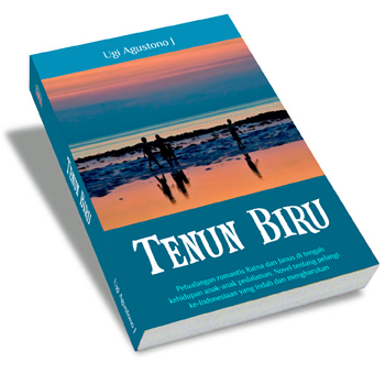 Hasil gambar untuk novel Tenun Biru