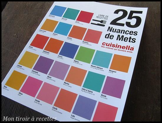 25 nuances de mets