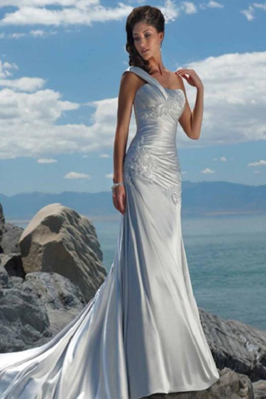 Summer beach wedding dresses 2013 for Summer dresses for weddings on beach