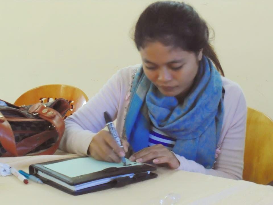 Individual work on Community Organizing