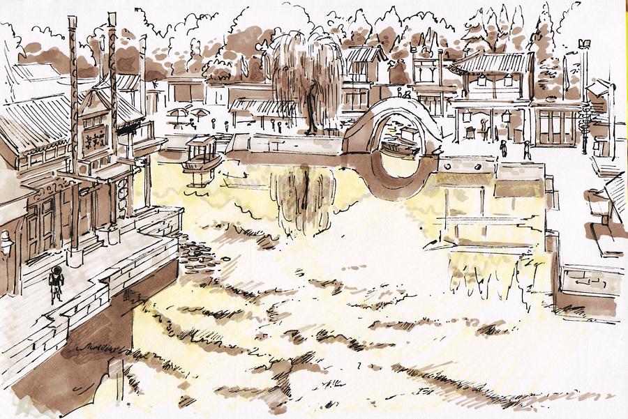 Jampix: Beijing Historical site Sketches.