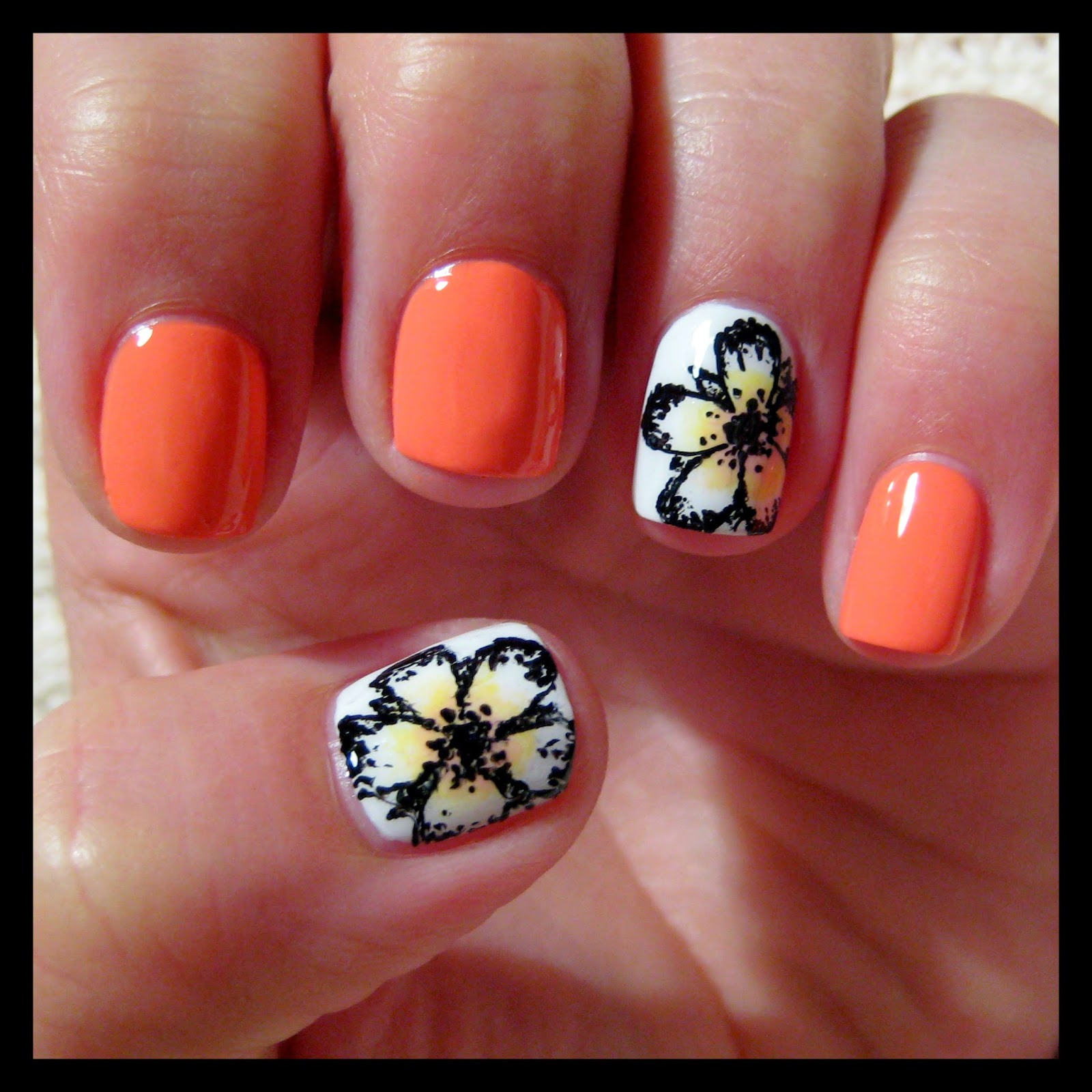 Dahlia Nails Hawaiian Papaya