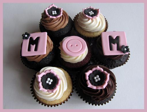 Anneler Günü Örnek Cupcake Modelleri - 2 -