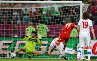 أهداف مباراة روسيا والتشيك 4-1 في اليورو 8-6-2012
