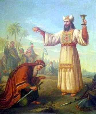 San Melquisedec, rey de Salem