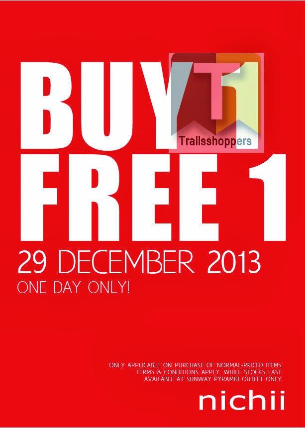 nichii BUY 1 FREE 1 Sale 2013