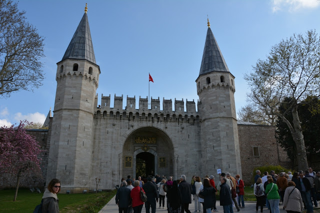 Topkapi Palace Istanbul Greeting Gate