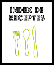 NDEX DE RECEPTES