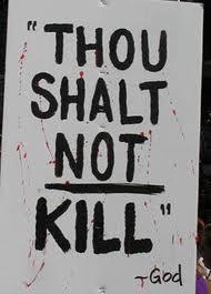Tyler's Blog: The Fifth Commandment