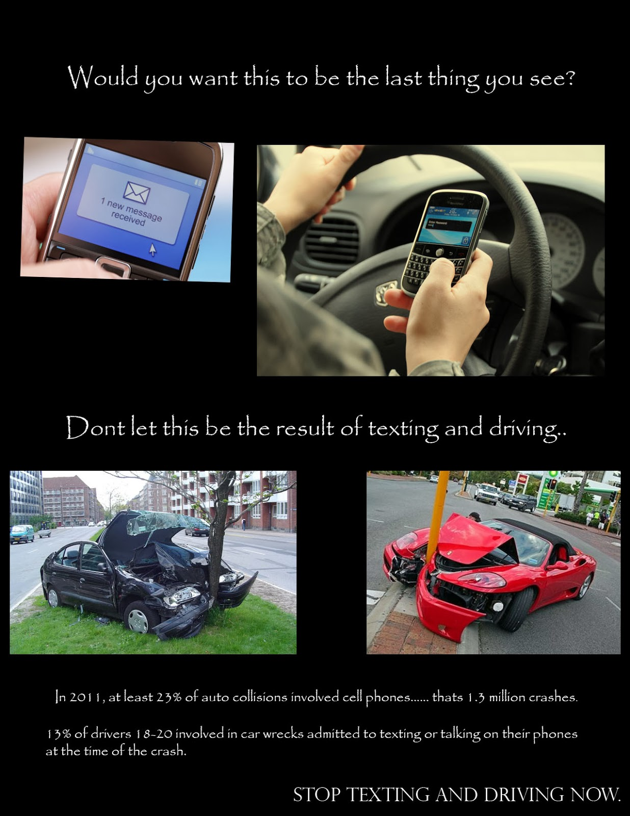 how to stop texting and driving ideas