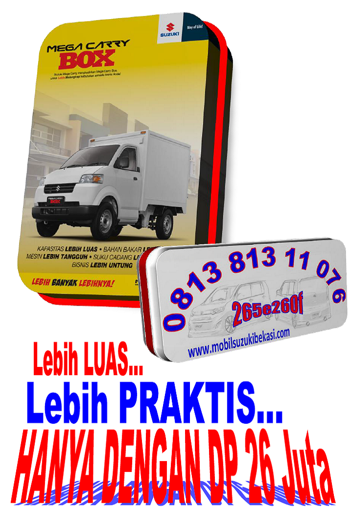 Promo Suzuki Mega Carry Box 2014