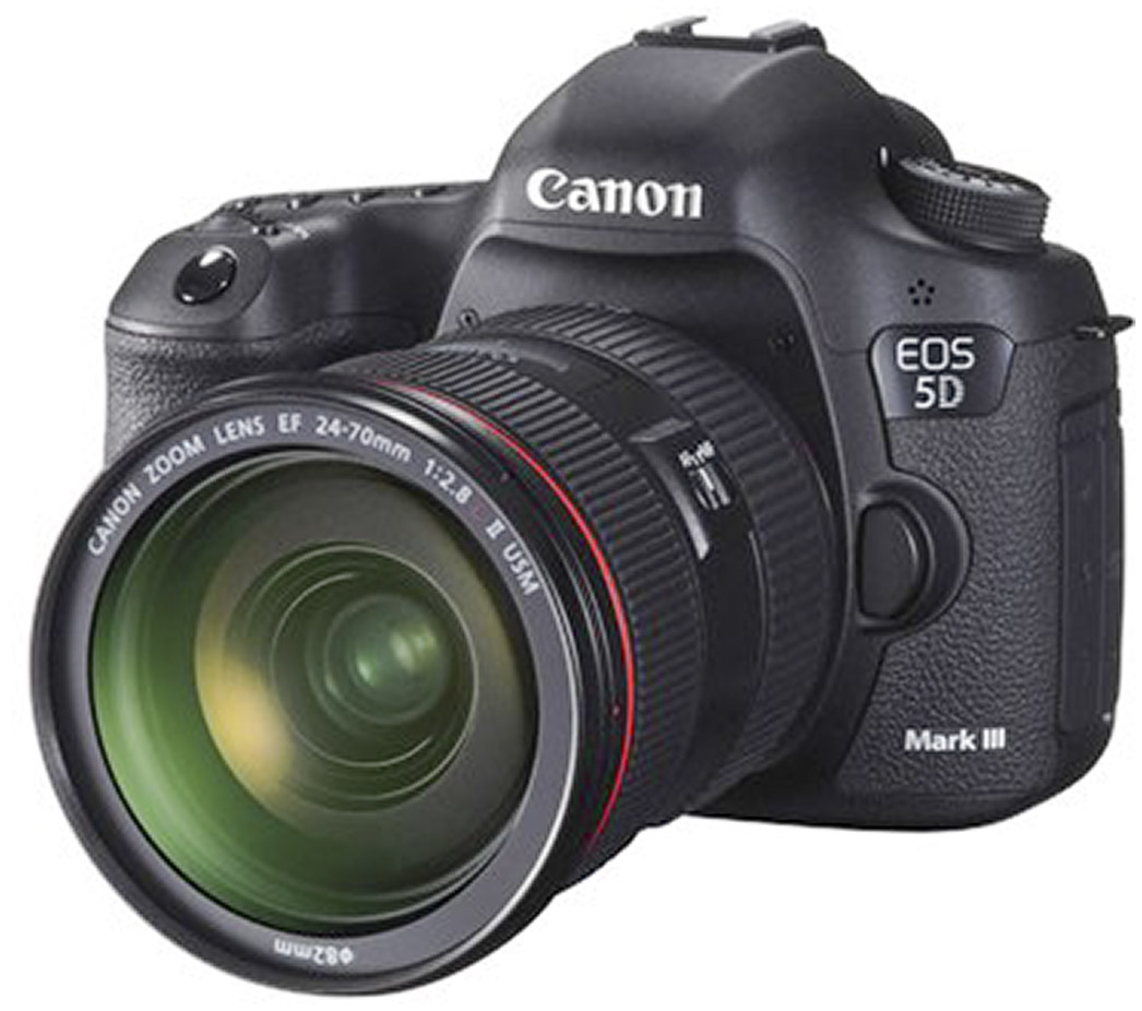 Man Behind Lens: Canon 5D Mark III Has Landed! Canon