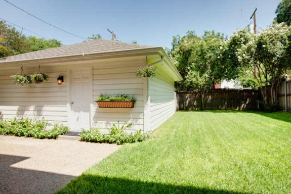 the backyard has been a big project over the past couple of years we started by hiring a landscaper to create beds and fill them in with english boxwoods - Backyard Before And After