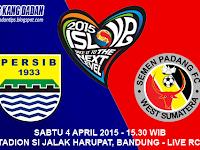 Persib vs Semen Padang ISL 2015