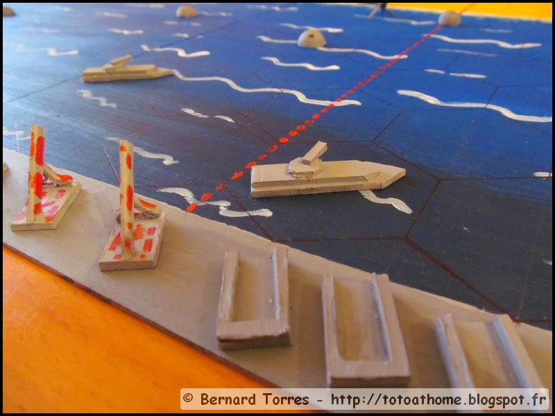Débarquement à Mémoire 44 - Porte-avions et barges