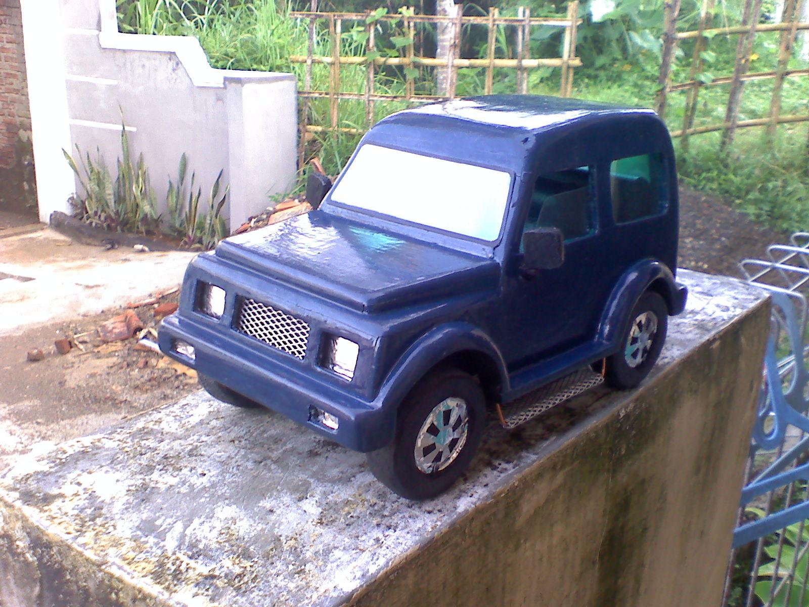 Miniatur Mobil Kayu Keren