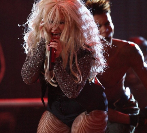 Christina Aguilera...doin' it big | Hot mess