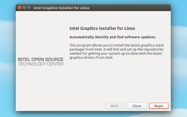 Intel Graphics Installer tool for Linux