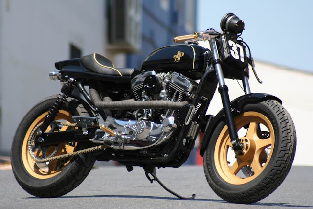 Cafe Racer Culture HarleydavidsonSportsterjpsHotDreams