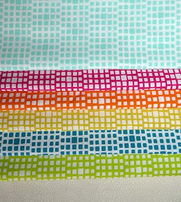 Nye patchworkstoffer til spændende tæppe projekt