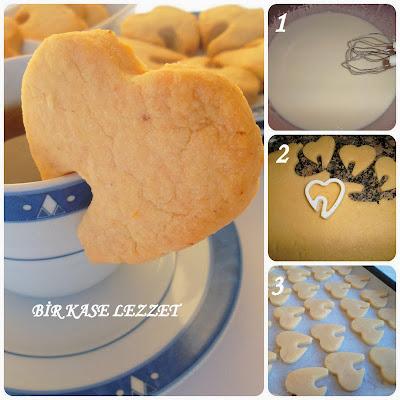 krem şantili kurabiye yapılışı