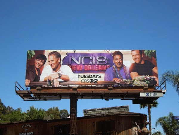NCIS: New Orleans series premiere billboard