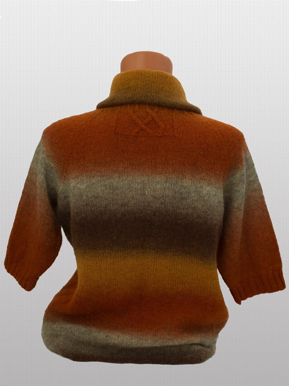Свитер из Кауни grey-orange