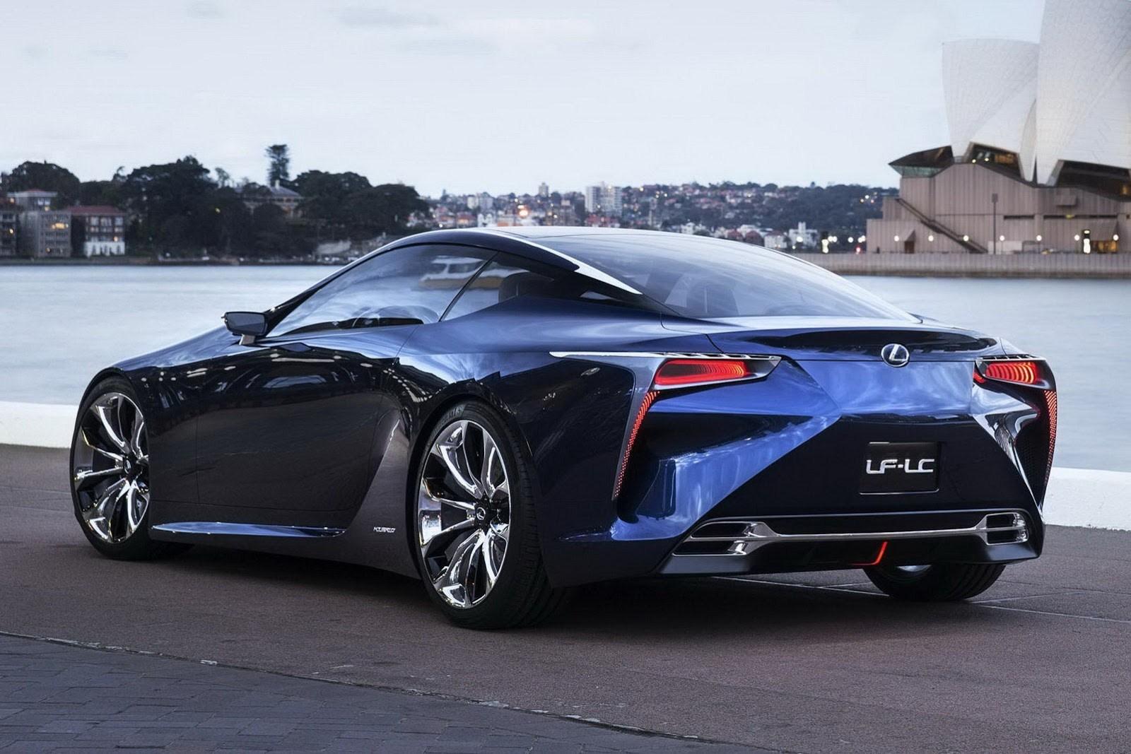 2015 Lexus Lf Lc Cars