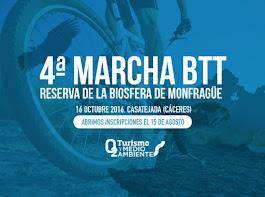 4ª MARCHA BTT RESERVA DE LA BIOSFERA DE MONFRAGUE