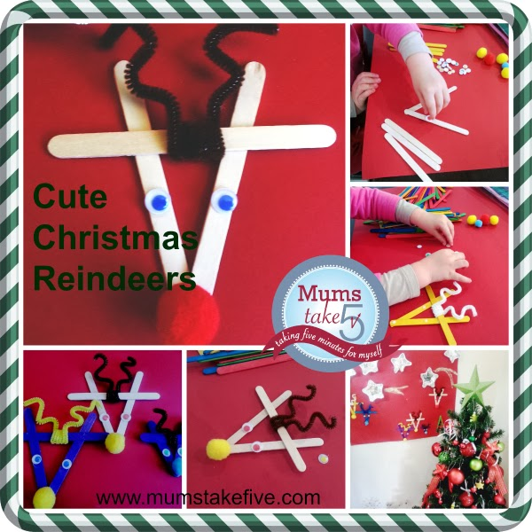 Mums Take Five Christmas Craft Really Quick And Simple
