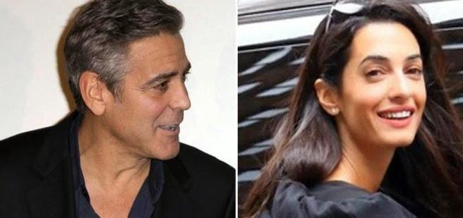 E' ufficiale: George Clooney sposerà la sua Amal in Italia