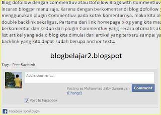 membuat komentar facebook di blog