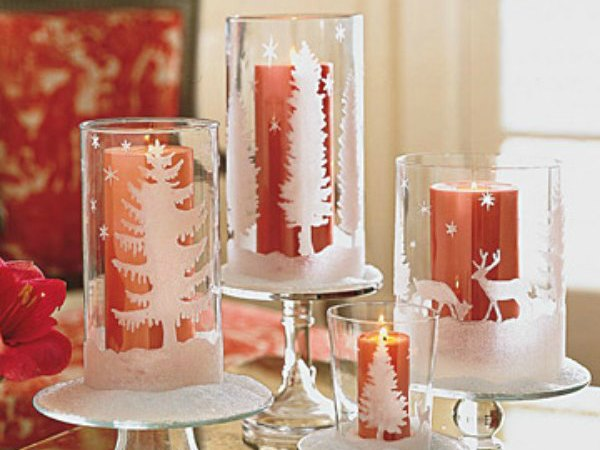 5 formas de decorar con candelabros tu mesa en navidad - Como hacer candelabros ...