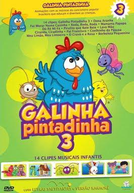 Galinha Pintadinha 3 - DVDRip Nacional