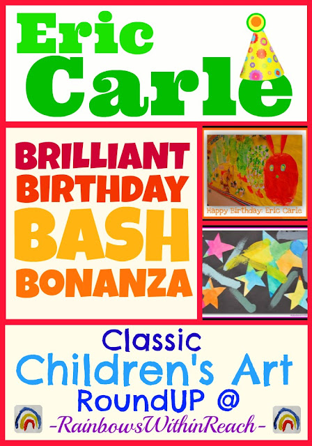 photo of: Eric Carle Birthday Bash of Children's Art in Response to the Classics at RainbowsWithinReach