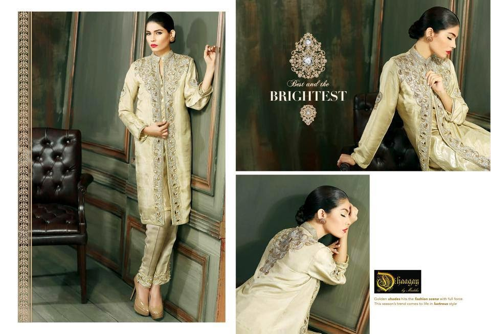 Dhaagay luxury pret wear formal collection 2015