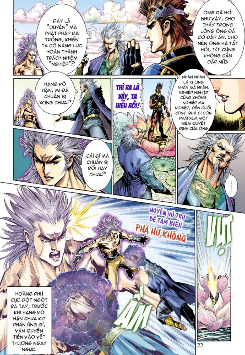 Thiên Tử Truyền Kỳ 5 - Như Lai Thần Chưởng chap 214 - Trang 21