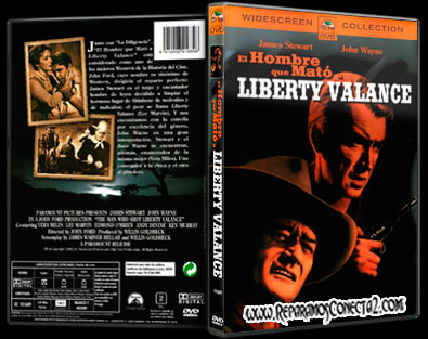EL Hombre Que Mato a Liberty Valance [1962] | cine clasico | Caratula