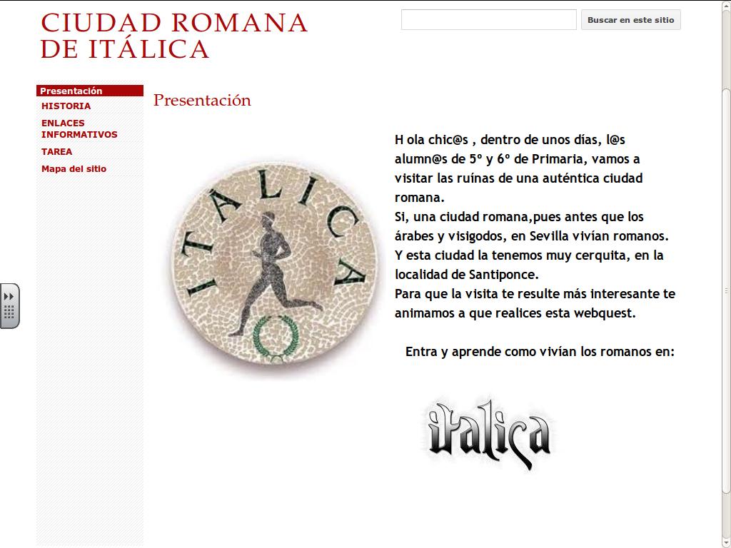 https://sites.google.com/site/ciudadromanadeitalica/