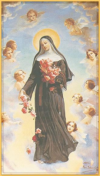 Neuvaine à Sainte Rita du 14 au 22 mai Tableau-sainte-rita