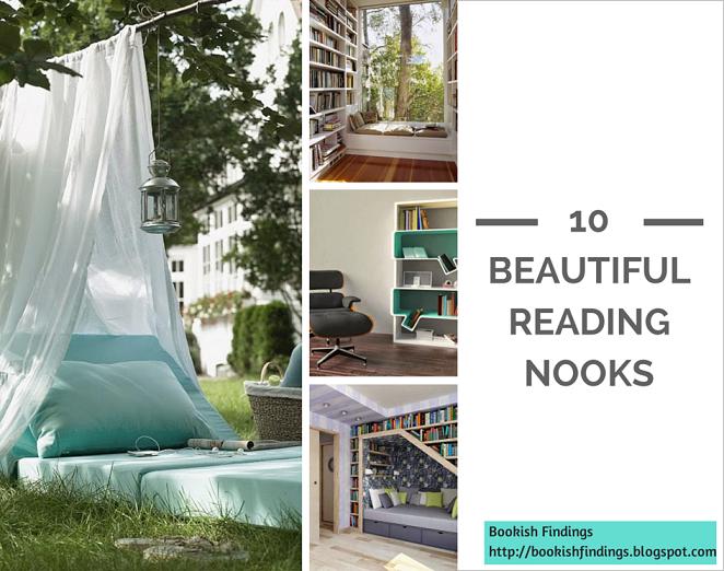 10 Beautiful Reading Nooks