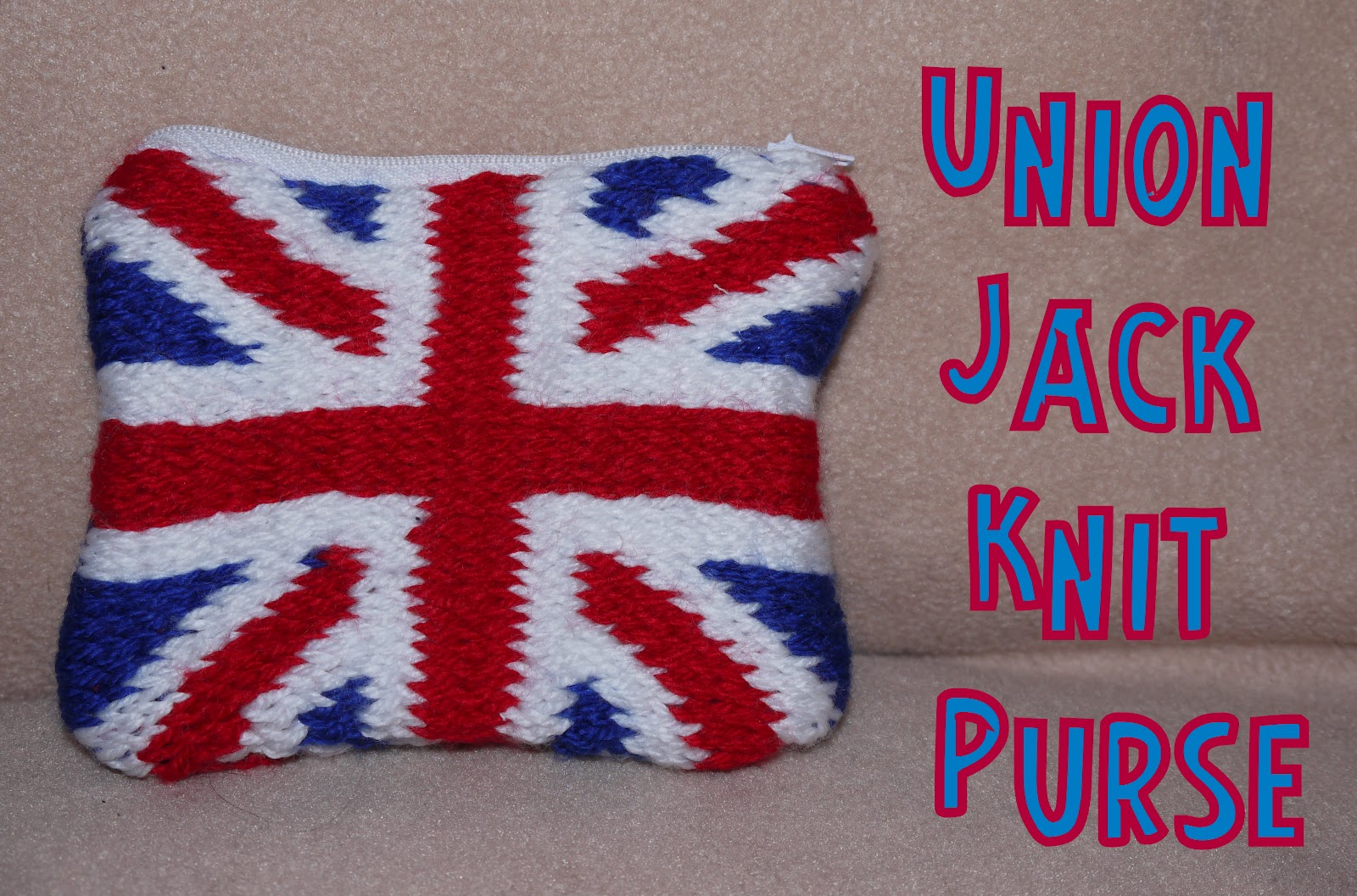 Herons Crafts: Olympic Countdown - 7 Weeks to go - Union Jack Knitted Pu...