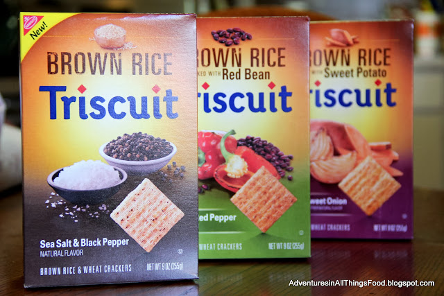 #BrownRiceTriscuit