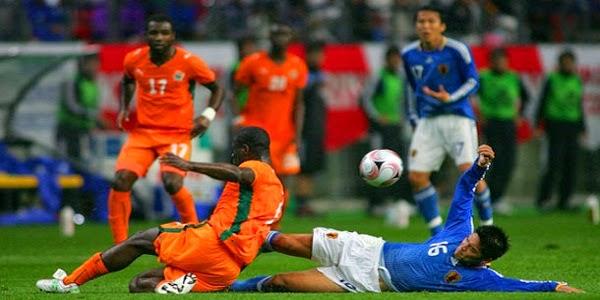 Video Laga Pantai Gading vs Jepang 2-1