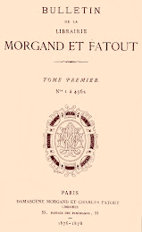 Bulletins de la Librairie Morgand et Fatout 1876-1904