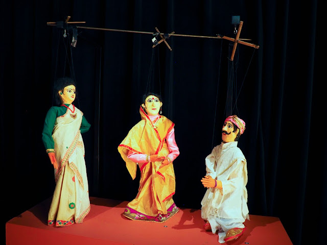 Marionetas de la India en el TOPIC Tolosa