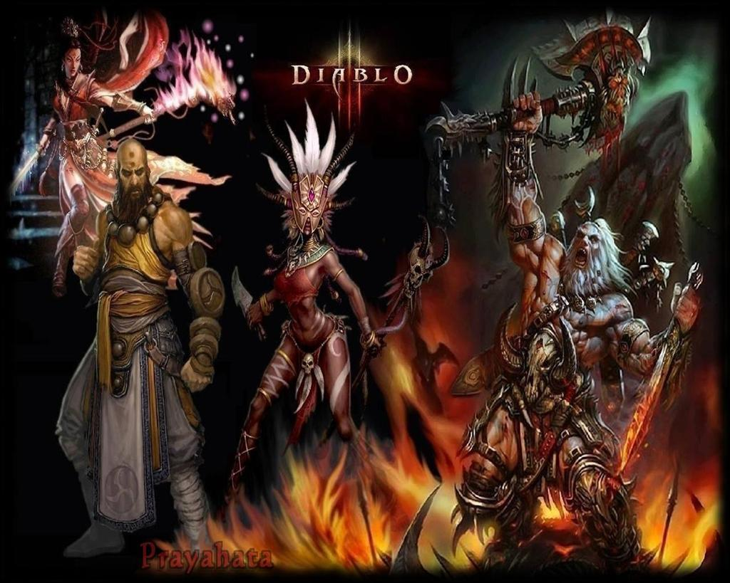 Diablo HD & Widescreen Wallpaper 0.105540578860908