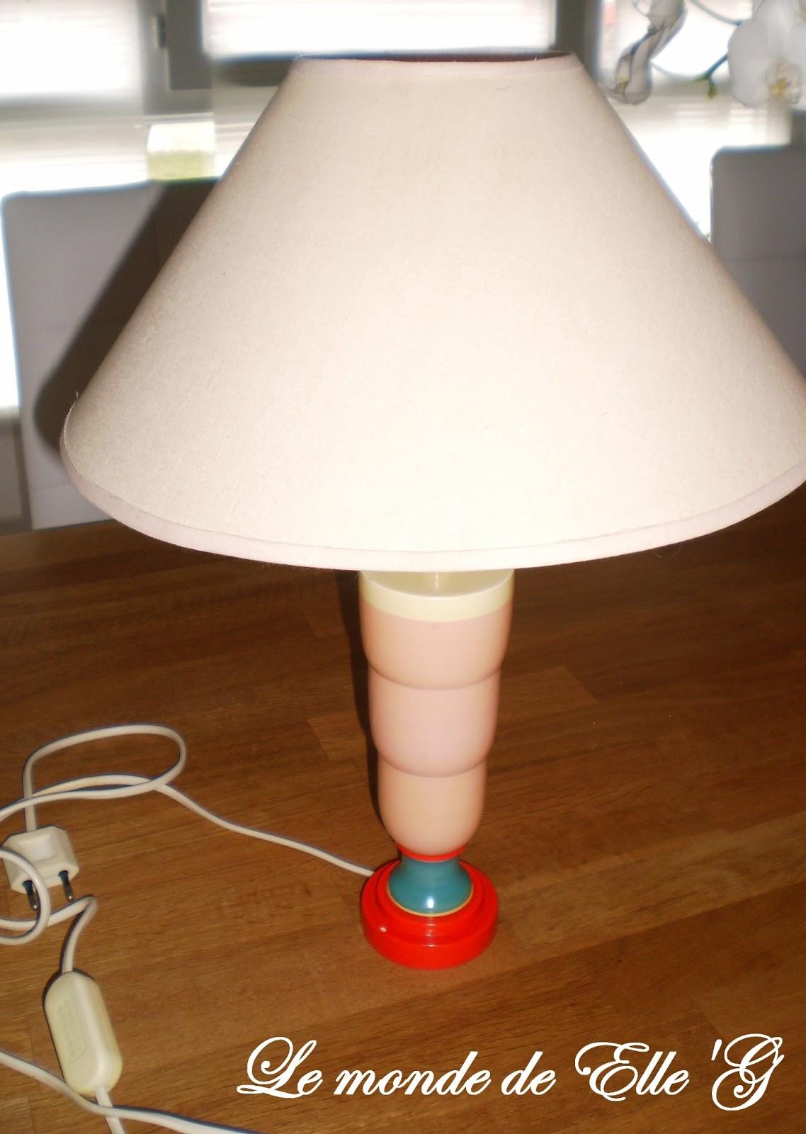 Lampe de chevet romantique le monde de elle 39 g for Petite lampe de chevet romantique