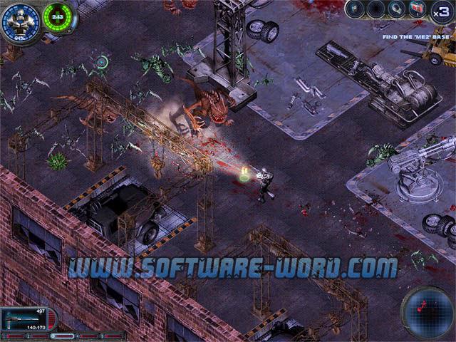 Download Alien Shooter 2 Reloaded PC Game Full Version - Screenshot