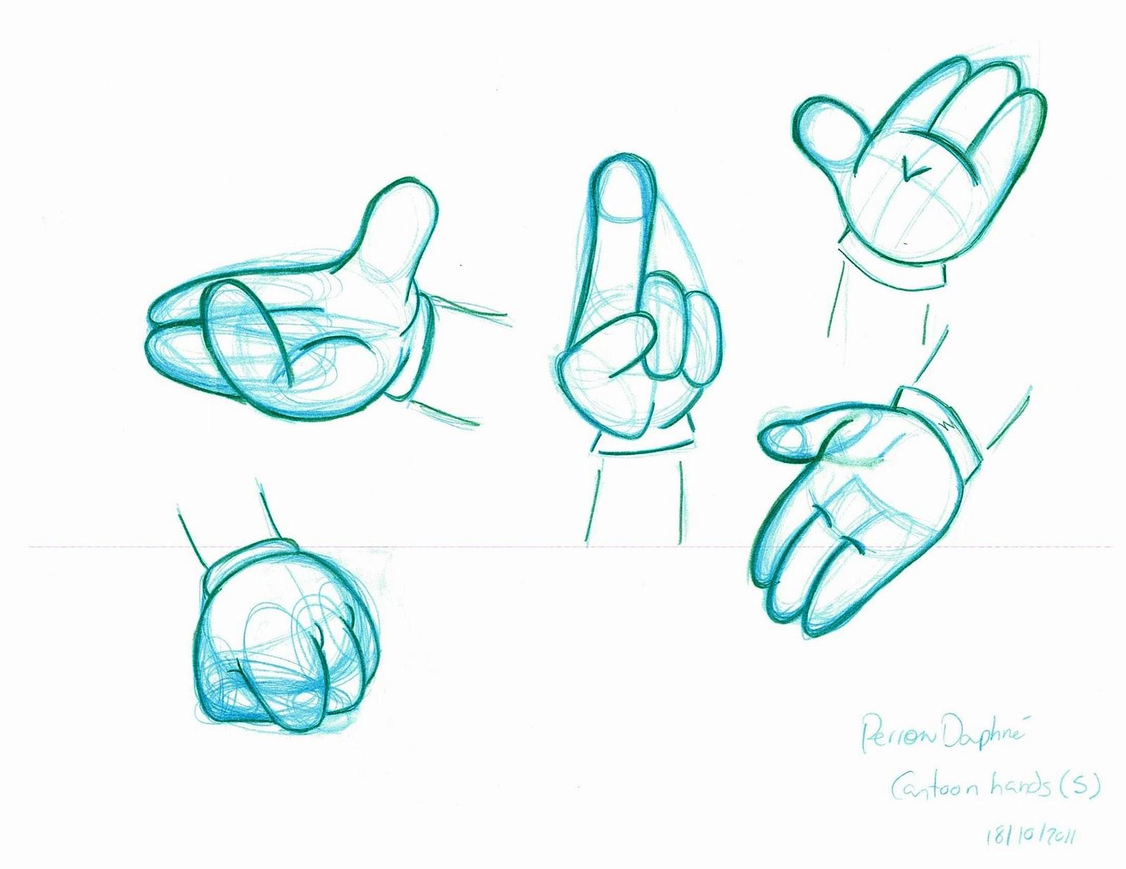 Comment dessiner la main de mickey la r ponse est sur - Dessin de la main ...